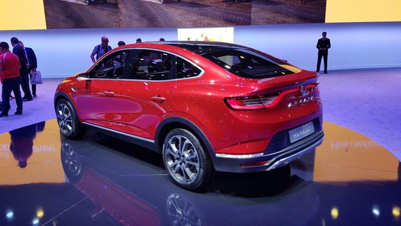 Renault Arkana фото авто