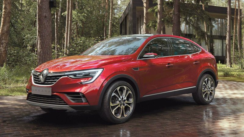 Купе Renault Arkana