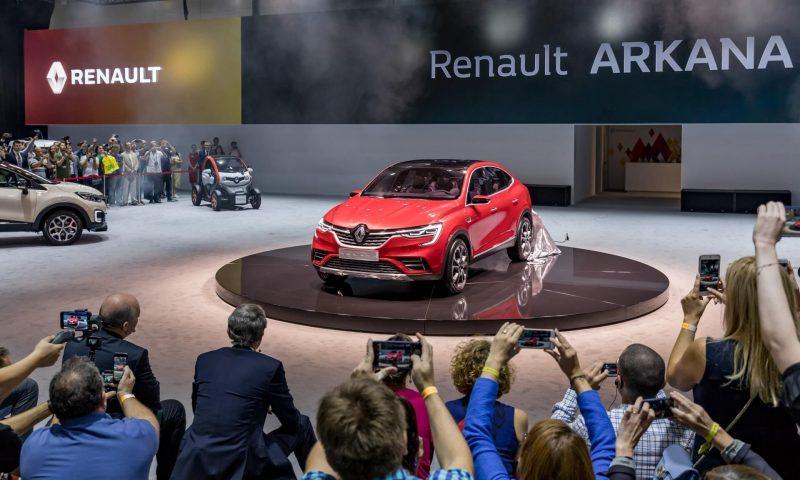 Новый Renault Arkana