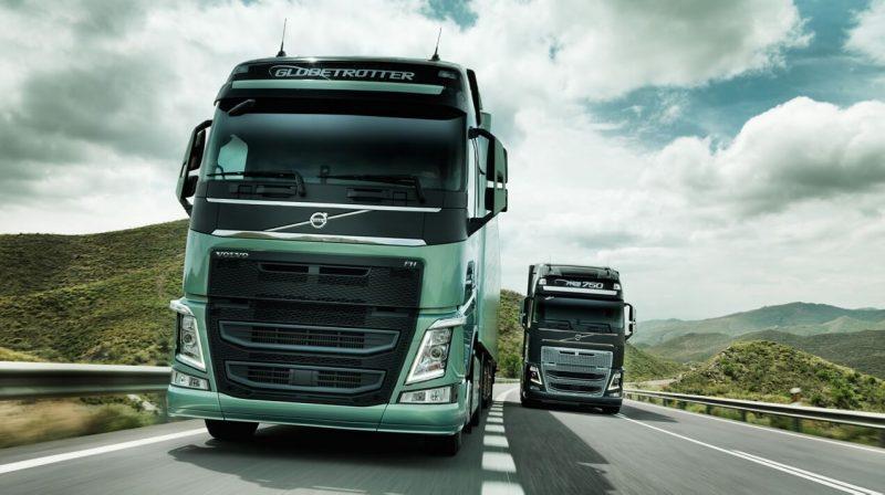 Вид спереди Volvo FH