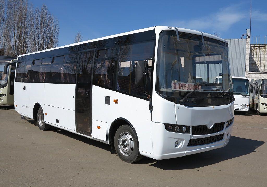Новый Украинский автобус Атаман