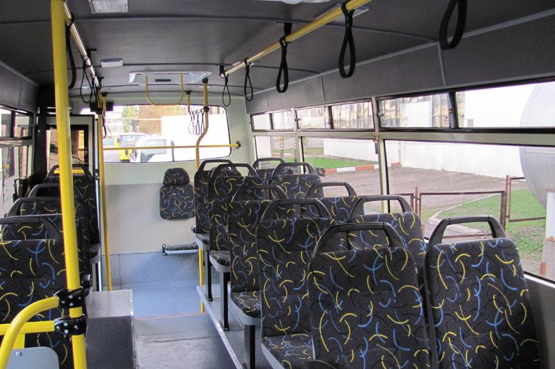 Салон нового автобуса Атоман