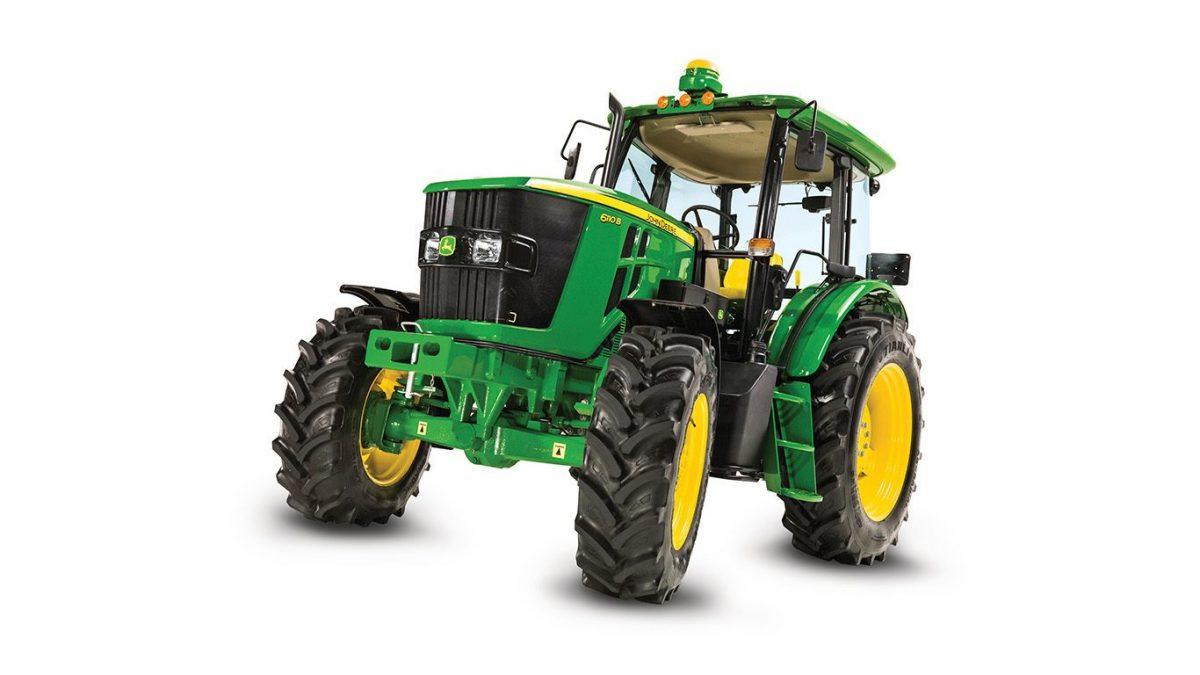 Новый трактор John Deere