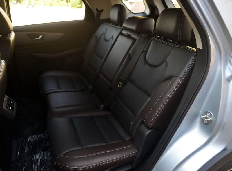 Задний диван DONGFENG S560