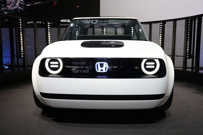 Honda Urban EV вид спереди
