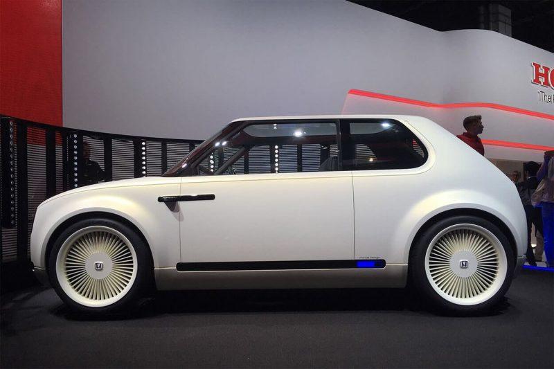 Honda Urban EV вид сбоку