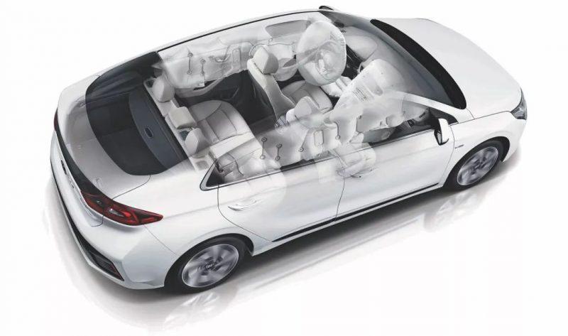 Hyundai Ioniq безопасность
