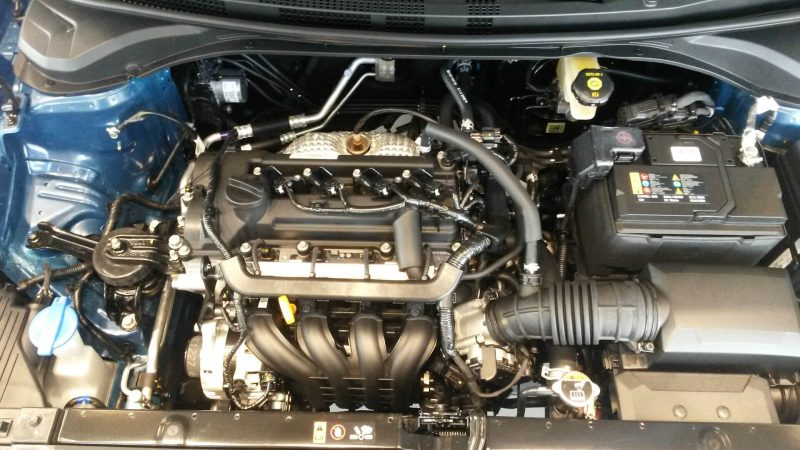 Двигатель Hyundai Solaris