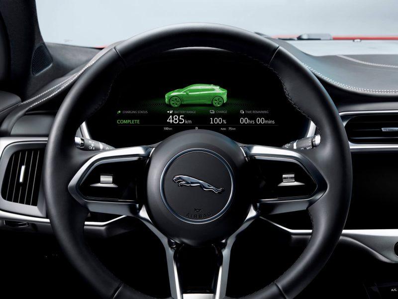 Рулевое колесо Jaguar I-Pace