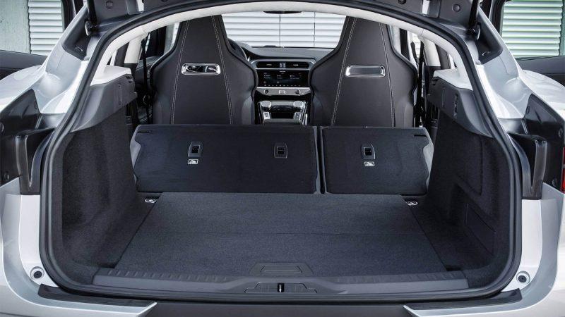Jaguar I-Pace багажник