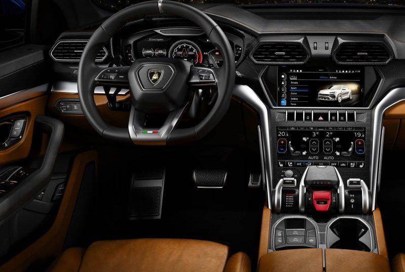 Фото салона Lamborghini Urus