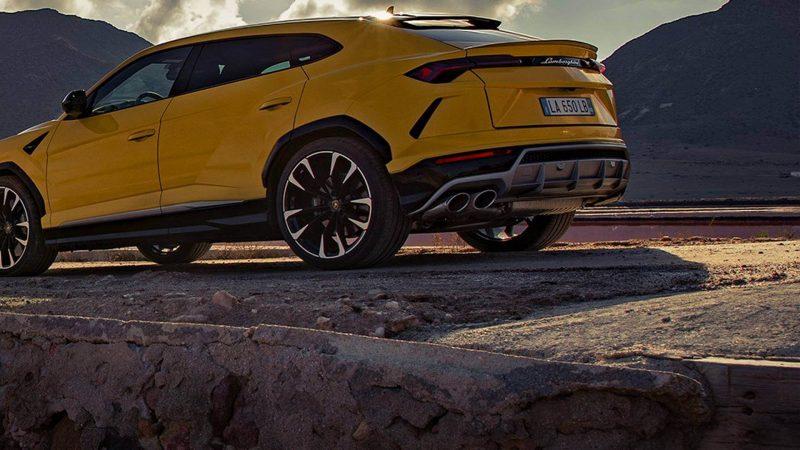 Lamborghini Urus фото авто
