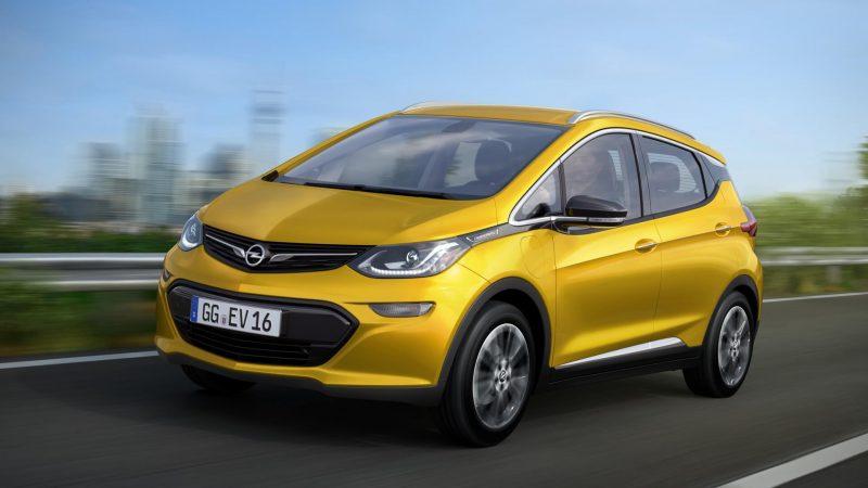 Opel Ampera-e фото
