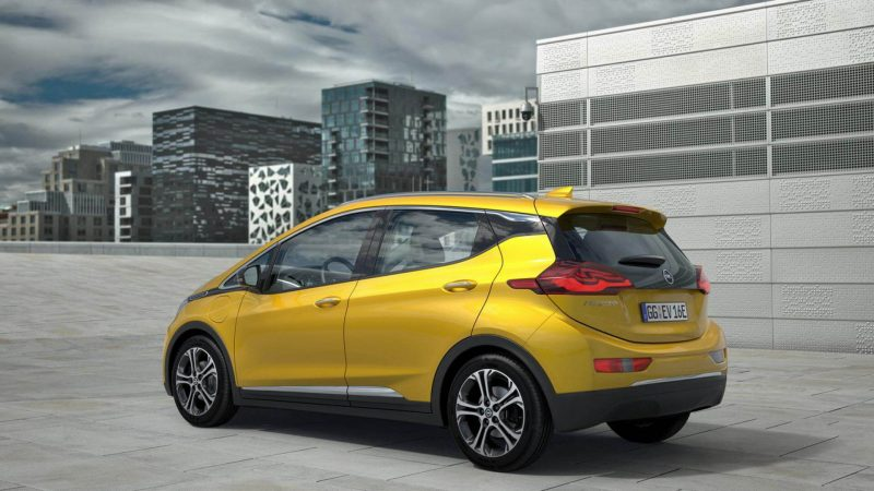 Opel Ampera-e фото авто