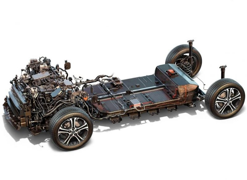 Ходовая часть Opel Ampera-e
