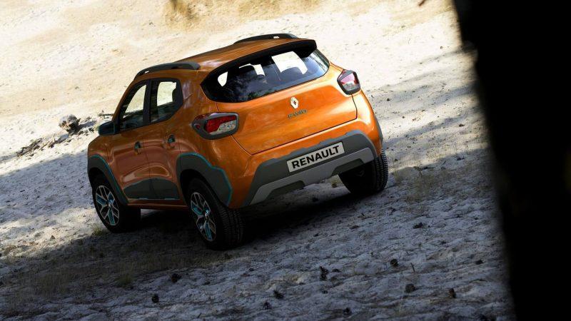 Вид сзади Renault Kwid