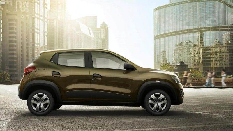 Renault Kwid вид сбоку