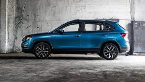 Новый паркетник VW Tharu или измененный Skoda Karoq?