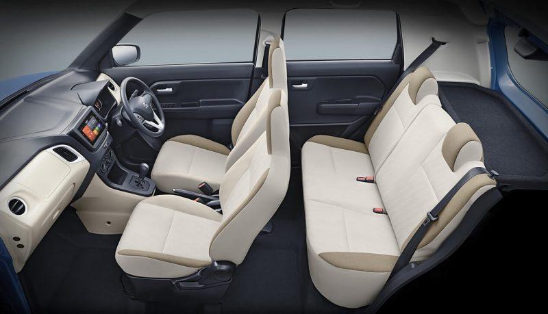 Интерьер Suzuki Wagon R