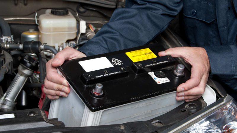 Подготовка аккумуляторной батареи