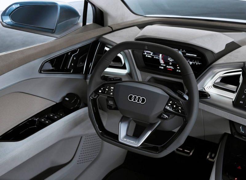 Рулевое колесо Audi Q4 e-tron