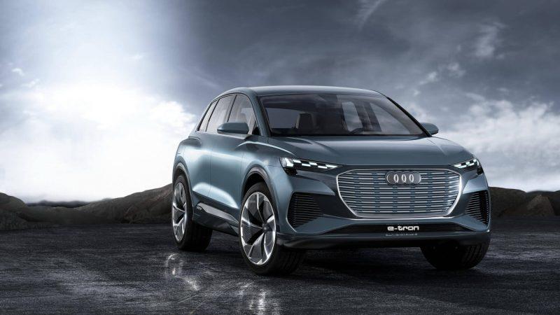 Фото Audi Q4 e-tron
