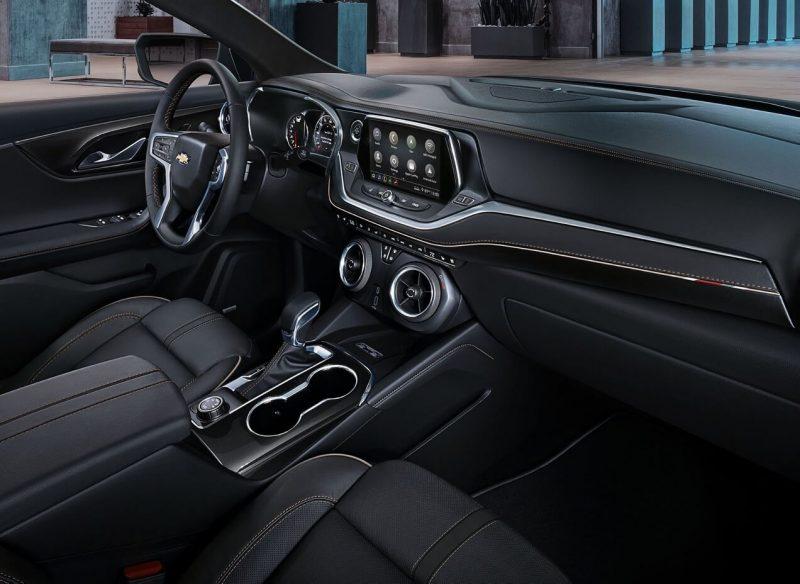 Chevrolet Blazer интерьер