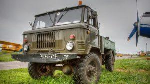 Вид спереди ГАЗ-66