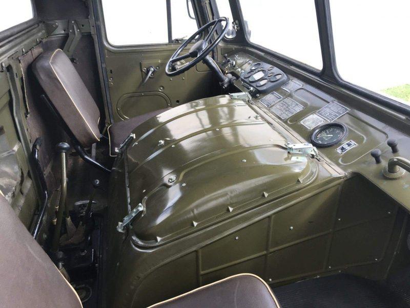 ГАЗ-66 салон