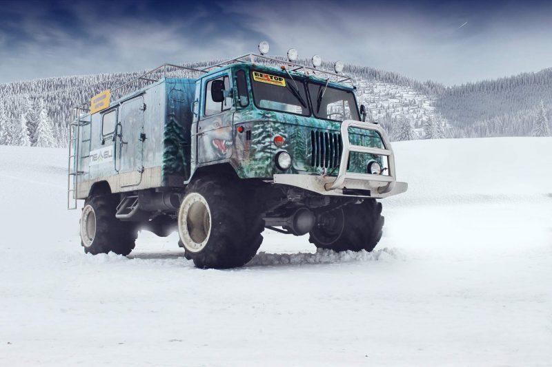 Тюнинг ГАЗ-66