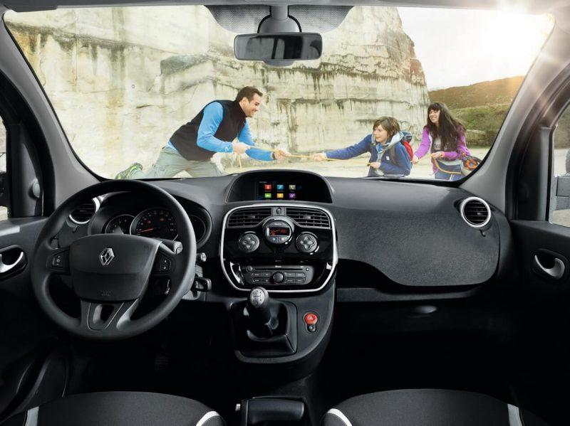Renault Kangoo салон