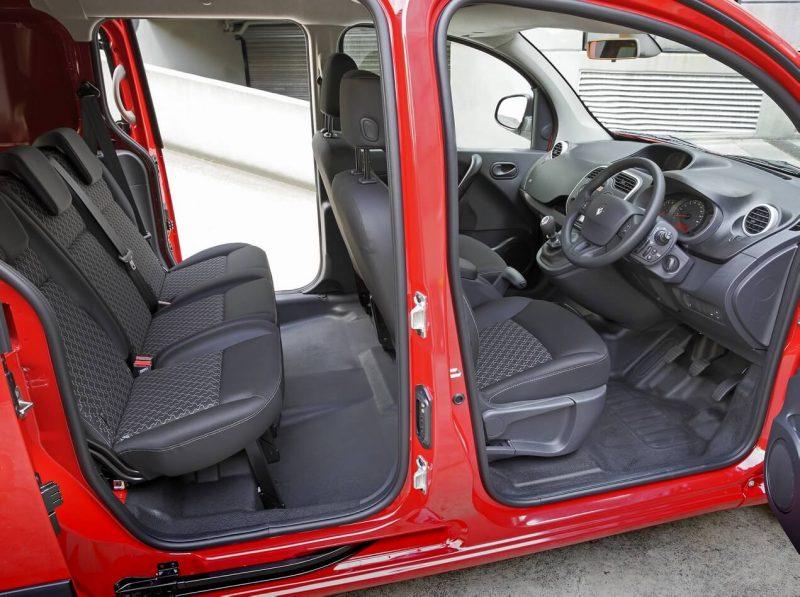 Салон рестайлинг Renault Kangoo