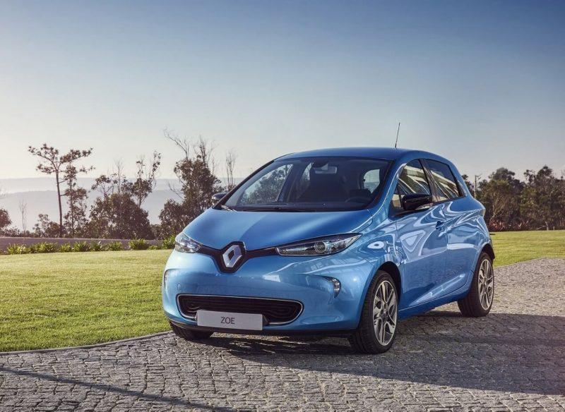 Автомобиль Renault ZOE