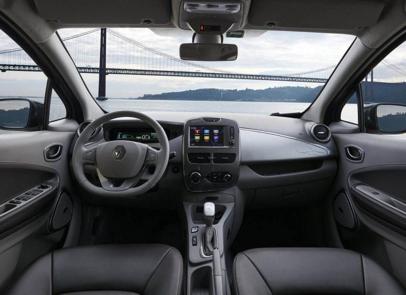 Renault ZOE интерьер