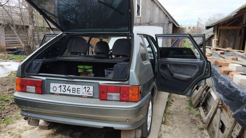 Багажник ВАЗ-2114