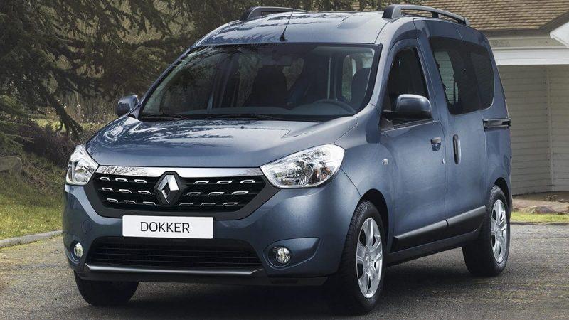 Renault Dokker вид спереди