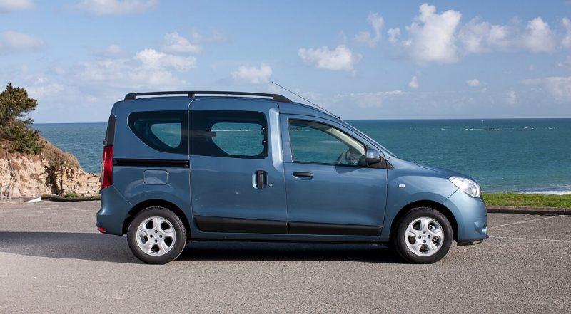 Вид сбоку Renault Dokker