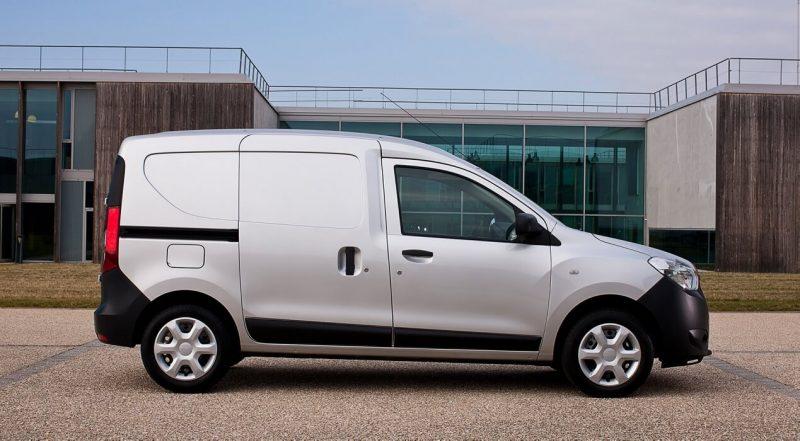 Вид сбоку Renault Dokker Van