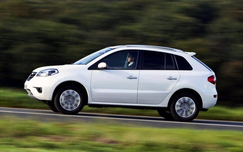 Вид сбоку рестайлинг Renault Koleos