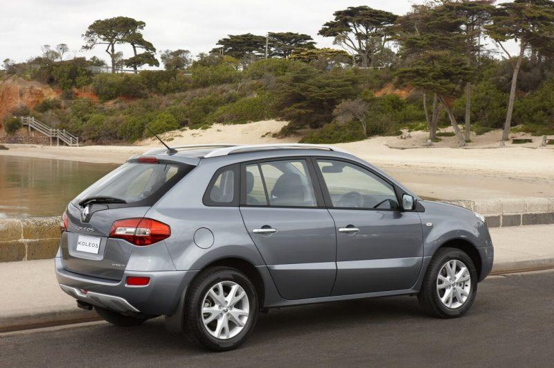 Вид сбоку Renault Koleos I