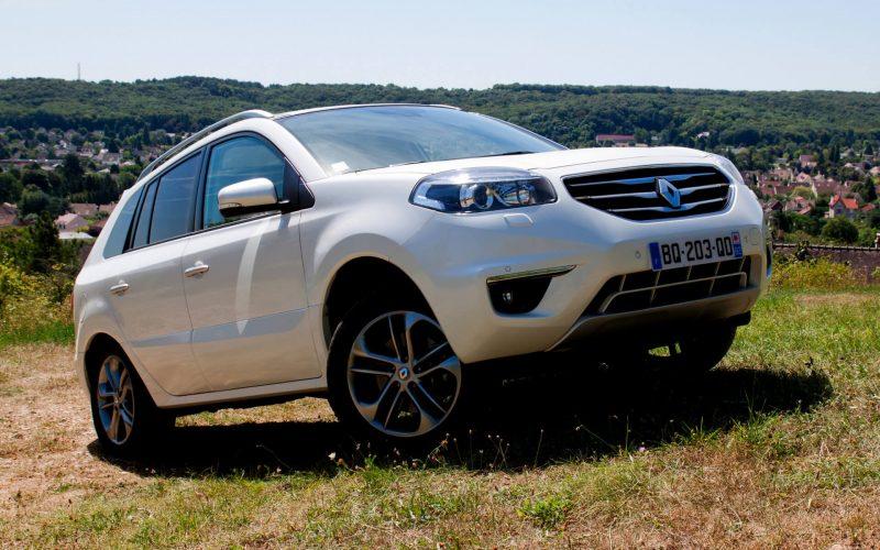 Фотография рестайлинг Renault Koleos