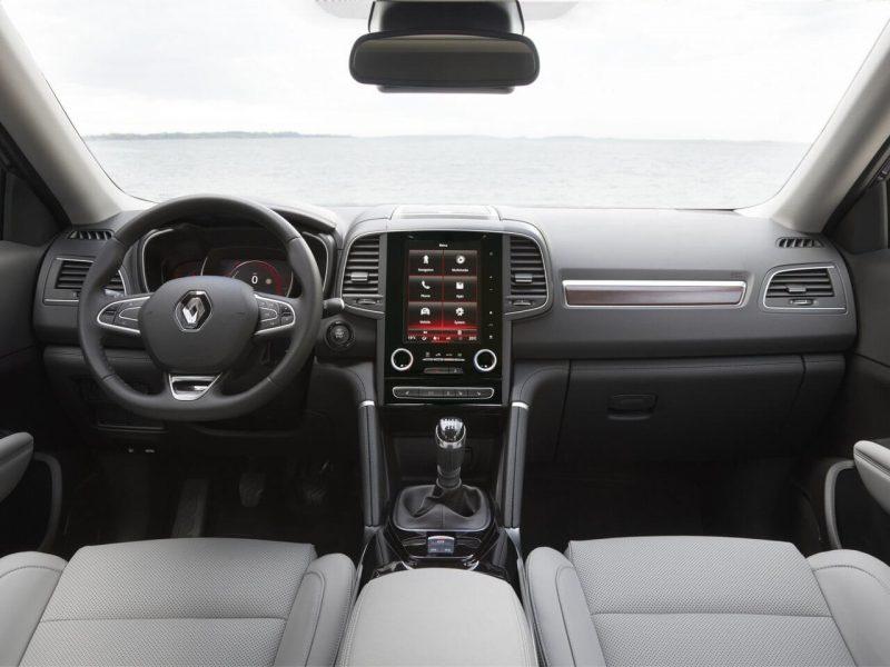 Renault Koleos II интерьер