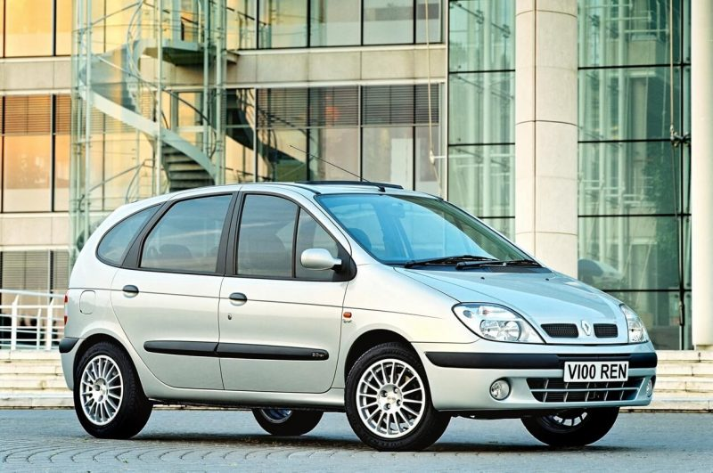 Renault Scenic рестайлинг