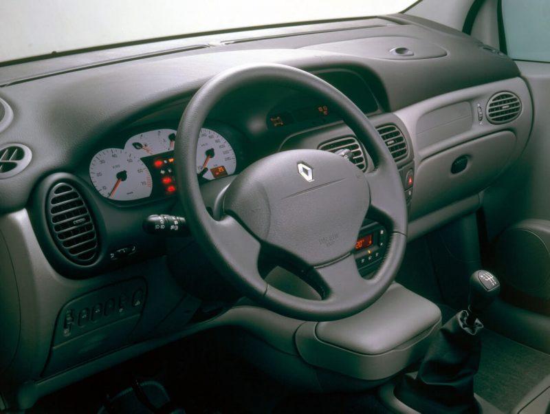 Renault Scenic I поколение салон