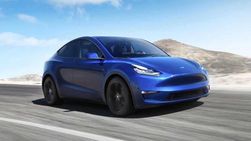 Авто Tesla Model Y