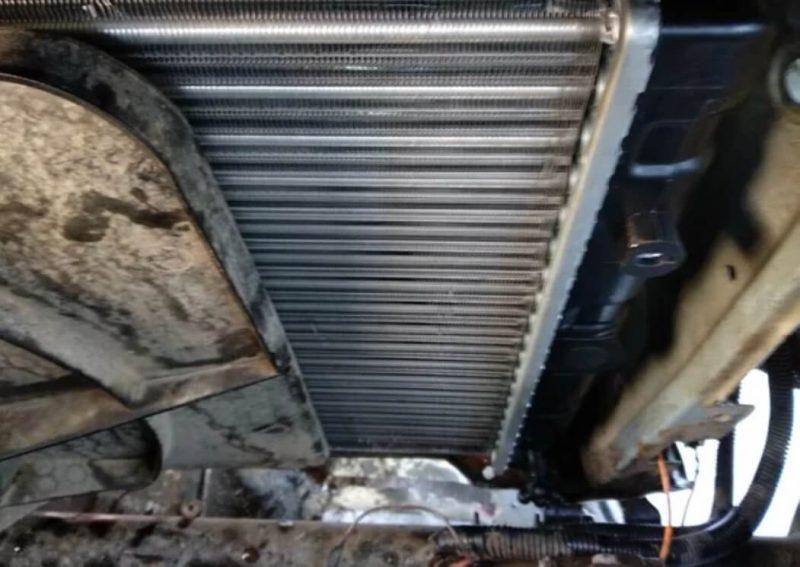 Радиатора охлаждения