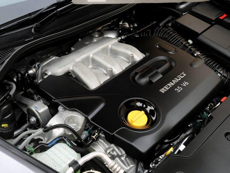 Renault Laguna двигатель