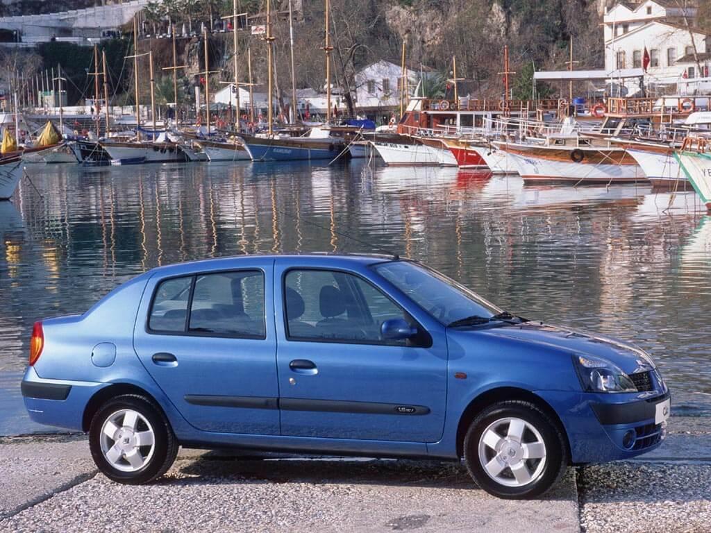 Вид сбоку Renault Symbol