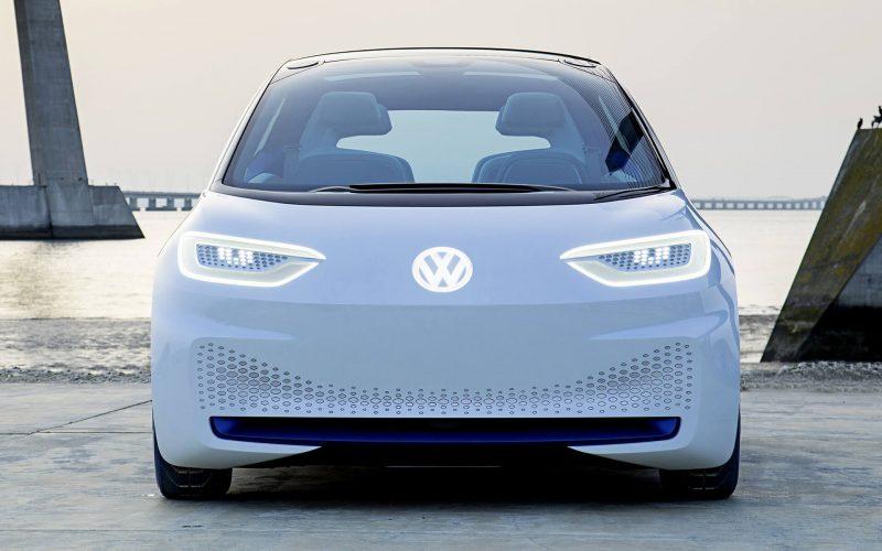 Вид спереди Volkswagen ID.3