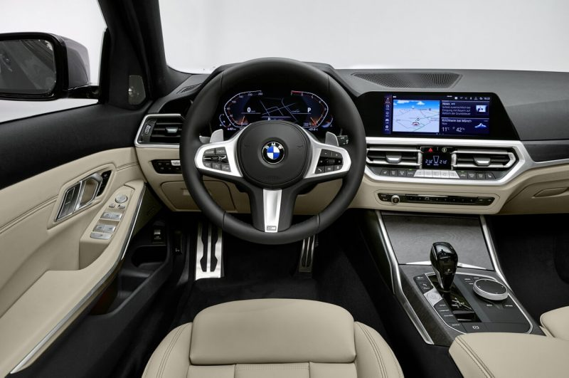 Салон BMW 3 Series